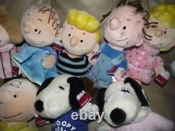 12 CEDAR POINT FAIR Peanuts GANG Charlie Brown & MORE Plush Camp Snoopy Pig Pen