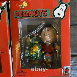 18 Snoopy Woodstock Christmas Ornaments Hallmark Kurt Adler Charlie Brown Lucie