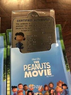 2015 Niue The Peanuts Movie 1 Oz Silver Coin Collection Charlie Brown Snoopy