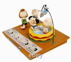 2018 Peanuts HE'S YOUR DOG CHARLIE BROWN Limited Edition Figurine By Hallmark