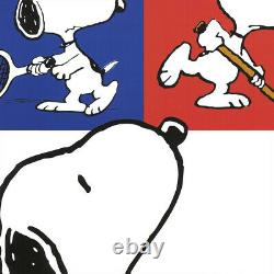 27Wx40H PEANUTS GANG by CHARLES SCHULZ -SNOOPY CHARLIE BROWN LINUS LUCY CANVAS