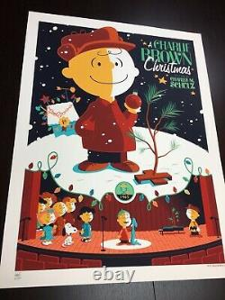 A Charlie Brown Christmas Whalen Signed Peanuts Snoopy LIM Edn Print! $185