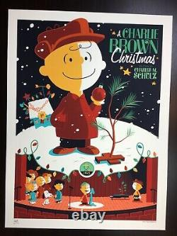 A Charlie Brown Christmas Whalen Signed Peanuts Snoopy LIM Edn Print! $200