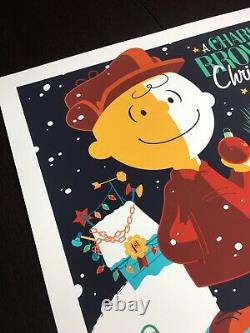 A Charlie Brown Christmas Whalen Signed Peanuts Snoopy LIM Edn Print! $205