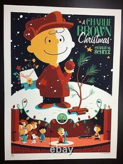 A Charlie Brown Christmas Whalen Signed Peanuts Snoopy LIM Edn Print! $225