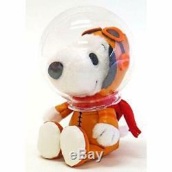ASTRONAUT SNOOPY Charlie Brown PEANUT 50th Anniversary Plush Doll H/18cm 2Set