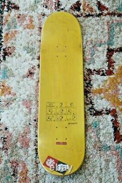 Appleyard ELEMENT x PEANUTS SKATEBOARD DECK Charlie Brown Snoopy Skate Wall Art