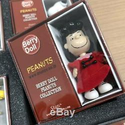 BERRY DOLL PEANUTS COLLECTION SNOOPY Charlie Brown Woodstock Lucy Figure Limited