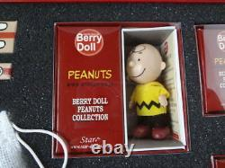 BERRY DOLL PEANUTS COLLECTION SNOOPY Charlie Brown Woodstock baseball Figure