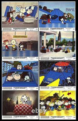BON VOYAGE CHARLIE BROWN original 1980 movie color lobby still set SNOOPY
