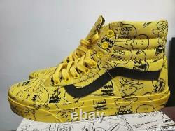Brand New in Box Peanuts x Vans Snoopy Charlie Brown SK8 Hi Size 7.5 VN0A2XSBQX4