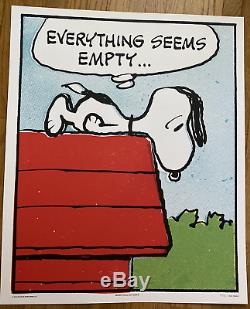 Charles Schulz Empty Mondo Peanuts Charlie Brown Snoopy Ed 125