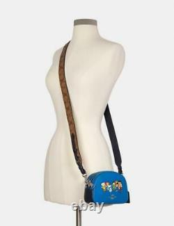 Coach X Peanut Graham Crossbody with Charlie Brown Friends Style 6490 NWT NEW
