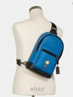 Coach X Peanuts West Pack With Charlie Brown C4151 NWT