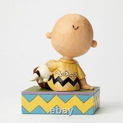 Enesco Jim Shore Figur 4049397 Happiness in Snuggling The Peanuts Skulptur