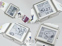 Epson Smart Canvas Peanuts Charlie Brown MEET HANKYU Limited Snoopy Wrist Watch