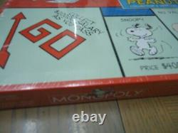 Factory Sealed Peanuts Monopoly Board Game-full Size-snoopy-charlie Brown-linus