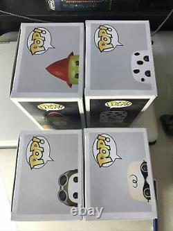 Funko POP PEANUTS HALLOWEEN Ghost Charlie Brown Flying Ace Snoopy Witch Lucy Set