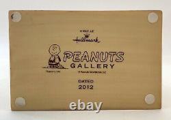 Hallmark Peanuts Snoopy, Charlie Brown Snow Globe Figurine, When Life Gets Fuzzy