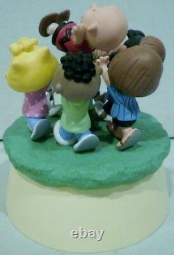 Hallmark Peanuts Snoopy & Gang Youre A Good Man Charlie Brown Musical Figurine