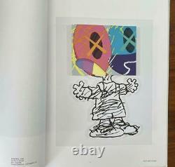 KAWS MAN'S BEST FRIEND NEW BOOK SEALED snoopy peanuts charlie brown woodstock