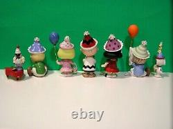 LENOX PEANUTS BIRTHDAY PARTY Snoopy Linus Lucy Sally Charlie Brown NEW BOX withCOA