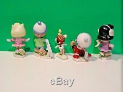 LENOX PEANUTS ICE SKATING PARTY NEW n BOX withCOA Snoopy Linus Sally Charlie Brown