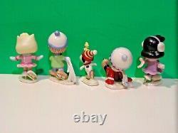 LENOX PEANUTS ICE SKATING PARTY Snoopy Linus Sally Charlie Brown NEW n BOX withCOA