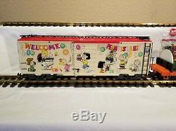 LGB Peanuts Snoopy Charlie Brown Limited Edition Cars 44610 and 43915