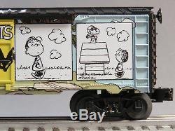 LIONEL PEANUTS HILLTOP BOXCAR car charlie brown charles comics 6-84676 NEW