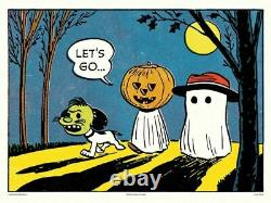 Let's Go Peanuts Charlie Brown- Snoopy Charles Schulz XXX/150 Mondo