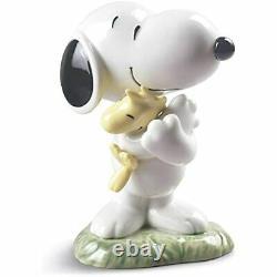 Lladró NAO Peanuts Snoopy Figurine Fine Porcelain Sculpture Ships Globally