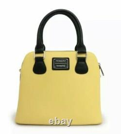 Loungefly Peanuts Charlie Brown Shirt Snoopy Handbag Crossbody Convertible Bag