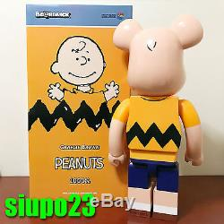 Medicom 1000% Bearbrick Peanuts Snoopy Be@rbrick 2017 Charlie Brown