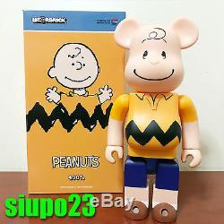 Medicom 400% Bearbrick Peanuts Snoopy Be@rbrick 2017 Charlie Brown