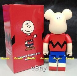 Medicom Be@rbrick 2015 The Peanuts Comic Snoopy 400% Charlie Brown Bearbrick 1p
