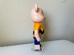 Medicom Bearbrick Snoopy Peanuts Charlie Brown Yellow 400% Be@rbrick Rare HTF