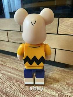 Medicom Toy Bearbrick Peanuts Snoopy 400% Charlie Brown Yellow Be@rbrick /Box