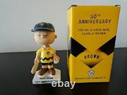 Milwaukee Brewers Charlie Brown Peanuts Bobblehead Bobble Snoopy Baseball SGA