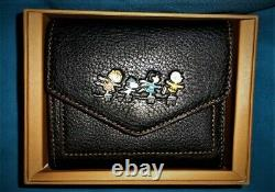 NEW Coach Peanuts Charlie Brown Ice-Skating Wallet. #16128 B. Limited Edition