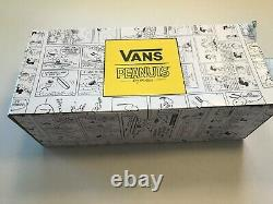 NEW PEANUTS GANG VANS Mens Sneakers size 11 Lace Up Charlie Brown Snoopy Linus