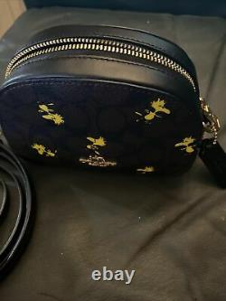 NWT Woodstock Charlie Brown Mini Serena Crossbody Hidden New purse