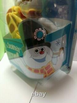 ORGINAL Frosty deluxe POSEABLE figure Frosty the Snowman NEW Round 2 Forever Fun