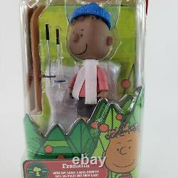 PEANUTS A Charlie Brown Christmas FRANKLIN + Skis Cap Base Forever Fun RARE Read