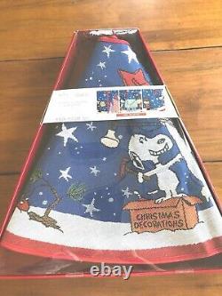Peanuts A Charlie Brown Christmas Tree Skirt 2019 Lights