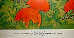 Peanuts Animation Cel Snoopy The Great Pumpkin Charlie Brown Rises Bill Melendez
