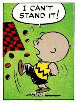 Peanuts Can't Stand It Charles Schulz Charlie Brown/Snoopy Print/Poster MONDO