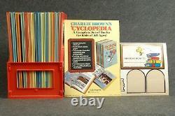 Peanuts Charlie Brown Cyclopedias Rare Introduction Index Snoopy 15 Volume Set