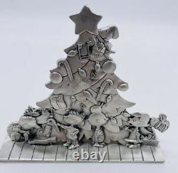 Peanuts Collection Seagull Pewter Christmas Tree Figure Snoopy Charlie Brown