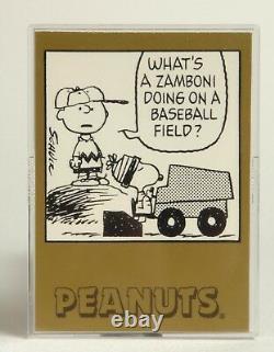 Peanuts Error Card Snoopy Charlie Brown #376 #305 Zamboni Baseball ProSports